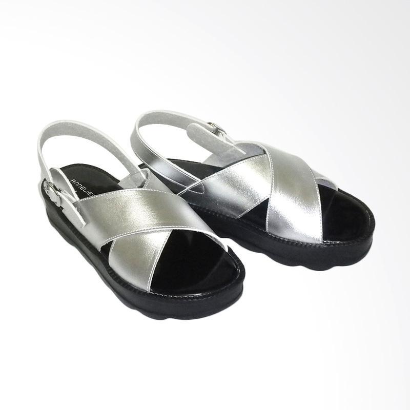 Anneliese Bella Sepatu Wedges Wanita - Silver