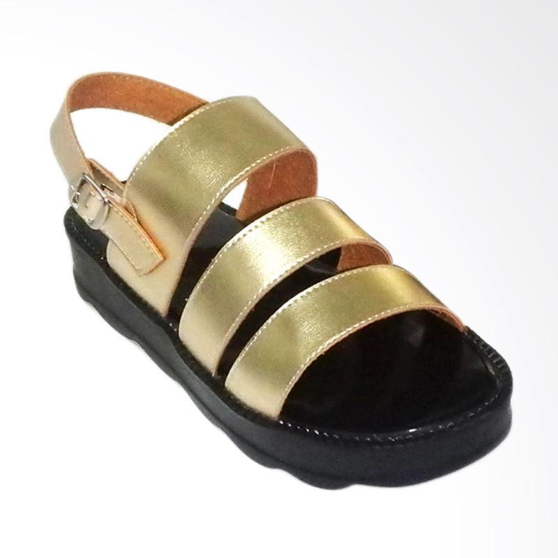 Anneliese Bella 3 Sepatu Wedges Wanita - Gold