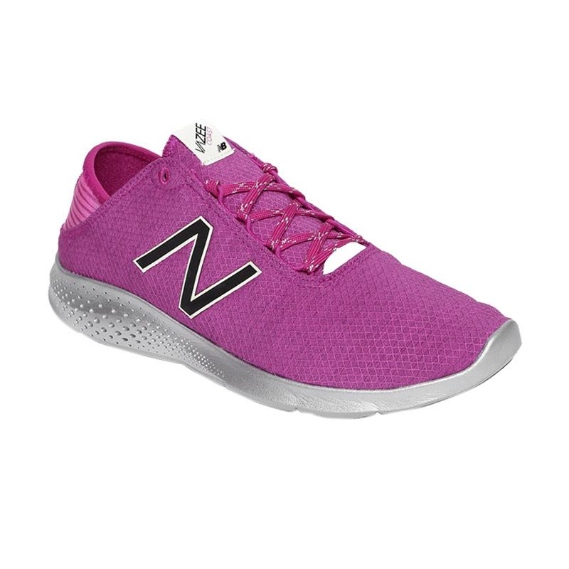 New Balance Running Vazee Coast Protect Sepatu Olahraga Wanita - Purple [WCOASPP2]