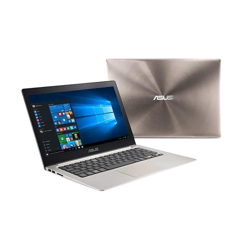 harga Asus ZenBook UX303UA-6200U Laptop - Smokey Brown [Intel Core i5-6200U/4GB/128GB SSD/13.3