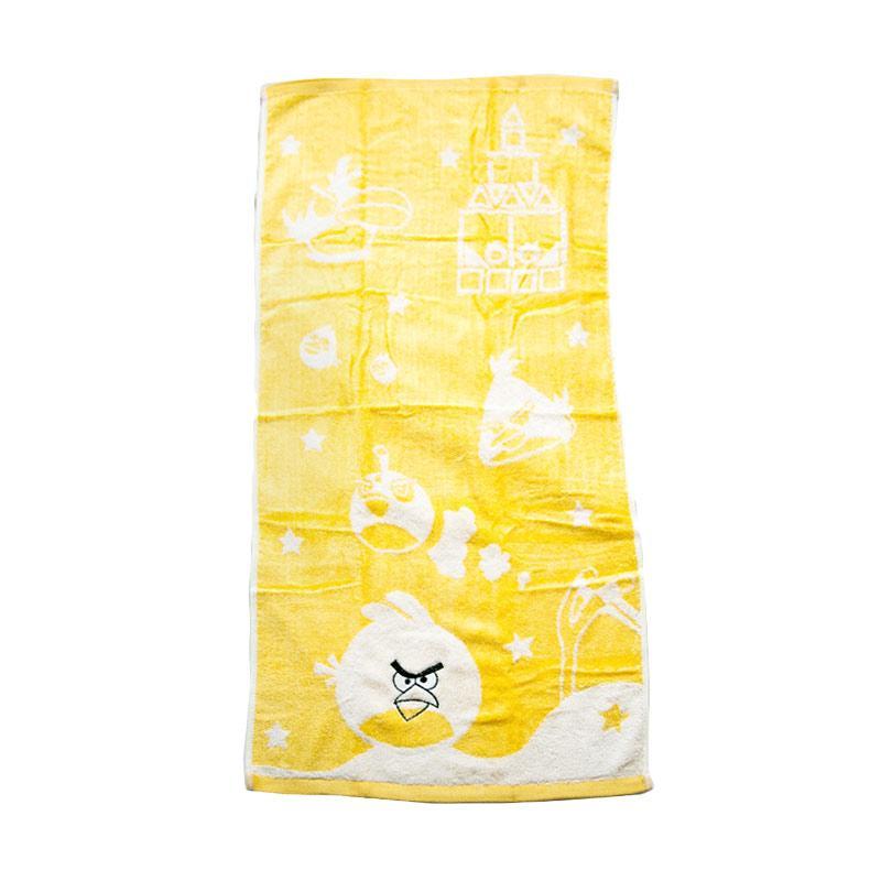 Dixon Angry Bird 7075 Handuk Mandi - Yellow [60 x 120 cm]