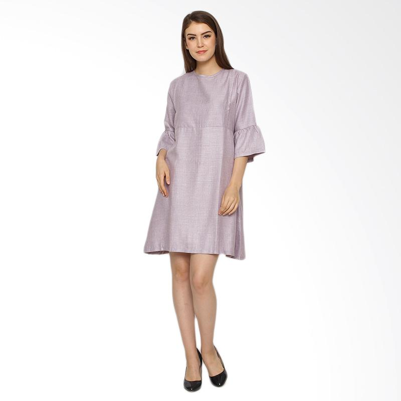 harga Just Mom RS101 Raisa Dress Baju Menyusui - Purple Blibli.com