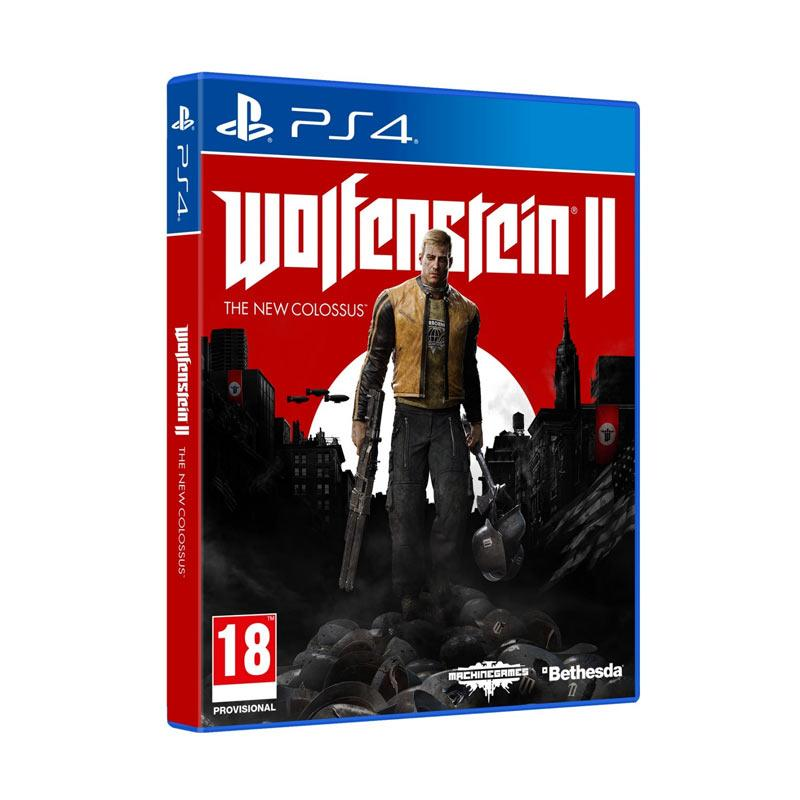 Daily Deals - SONY PS4 Wolfenstein II The New Colossus DVD Game