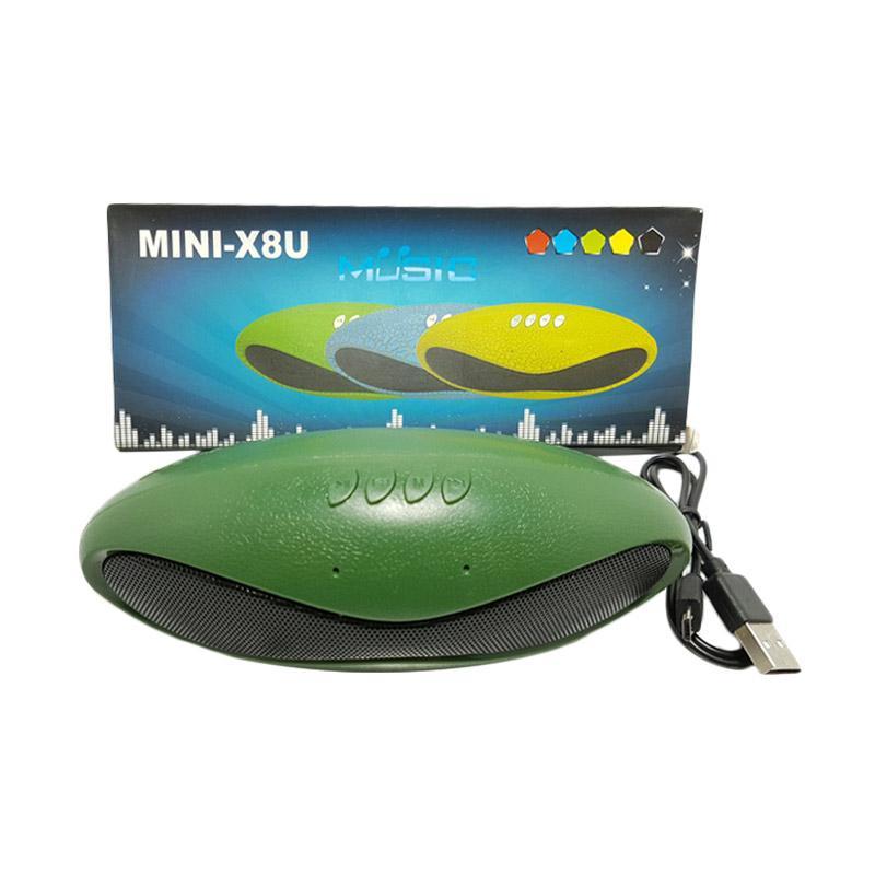 Solidex X-8U Oval Pernist Bluethooth Speaker - Green