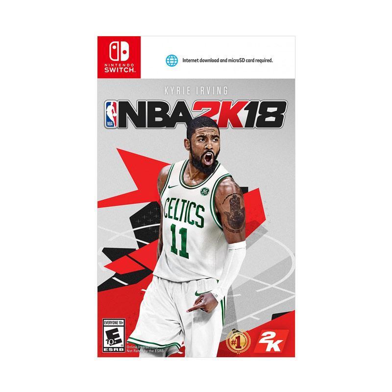 Nintendo Switch NBA 2K18 DVD Game