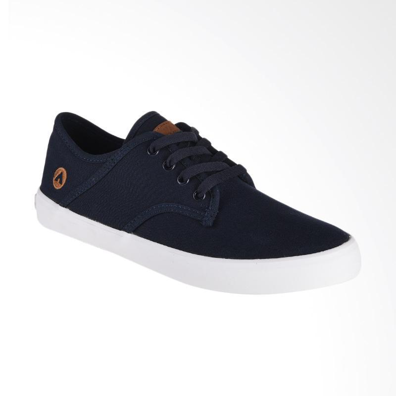Airwalk Jisaac Sneaker Pria - Navy [AIW17CV0245S]
