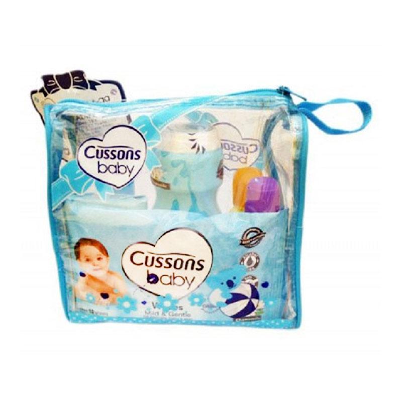 Cussons Baby Medium Bag Daily Care Set - Blue