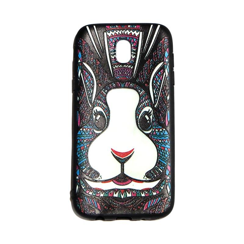 QCF Luxo Rimba Rabbit Kelinci Silikon Softcase Casing for Samsung Galaxy J5 Pro 2017 J530
