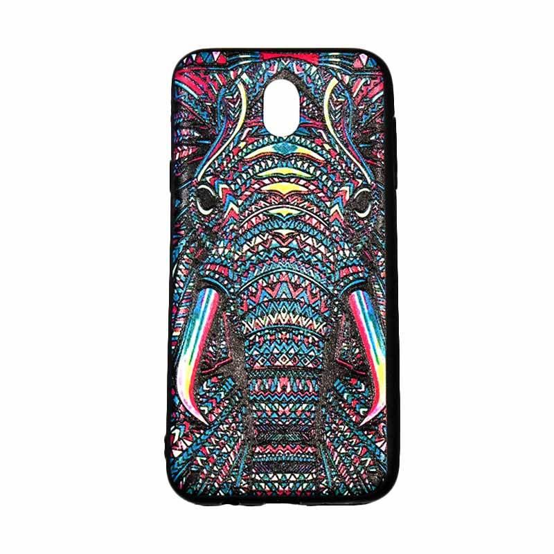 QCF Luxo Rimba Gajah Silikon Softcase Casing for Samsung Galaxy J7 Pro 2017 J730