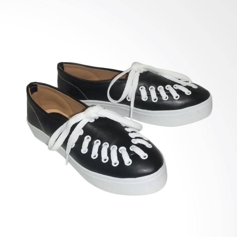 Anneliese Hani Sepatu Slip On Wanita - Black