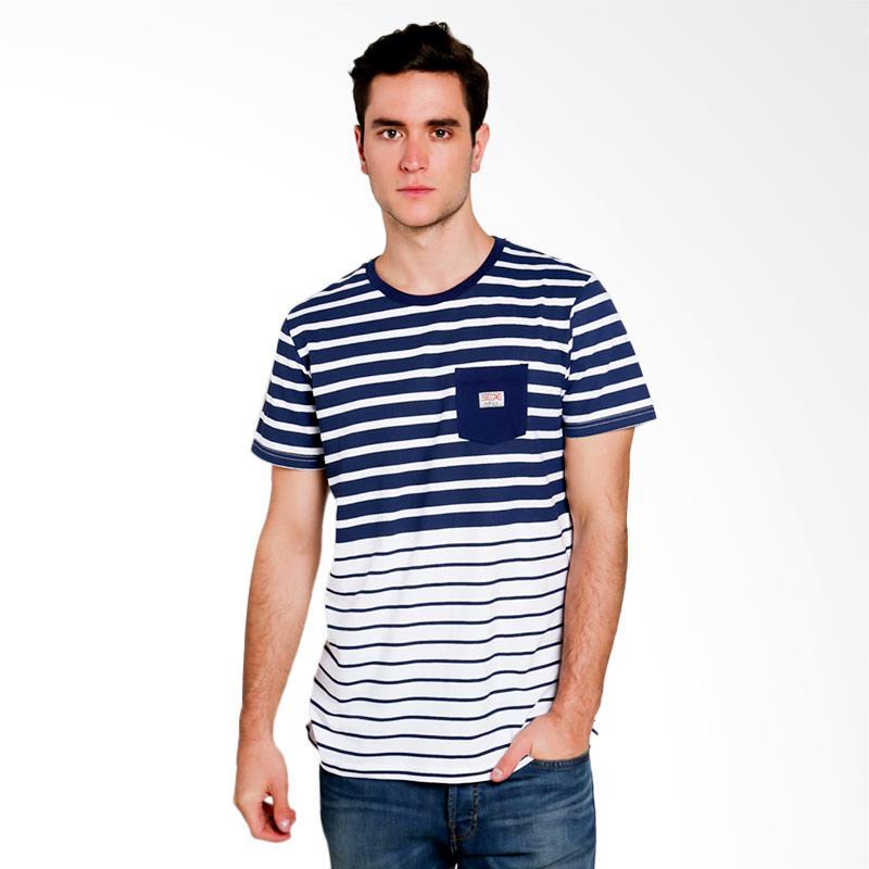 3SECOND Men T-shirt Atasan Pria - White