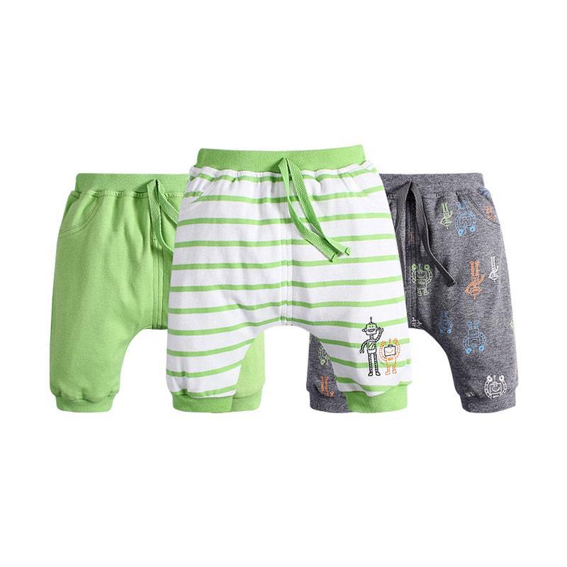harga Mom n Bab Fifth Pants 3in1 Green Robot Celana Anak Laki-Laki Blibli.com