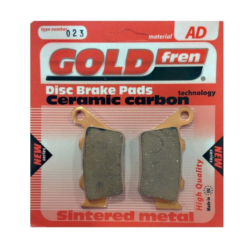 harga Goldfren Kampas Rem Belakang for Ducati Scrambler/CB500/ KTM Duke Type 023AD Blibli.com