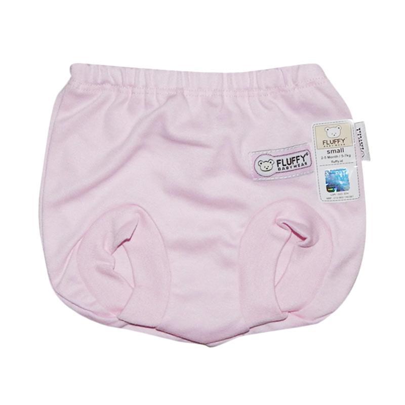 Fluffy CCS-W-S Celana Pop Bayi - Pink [Size S]