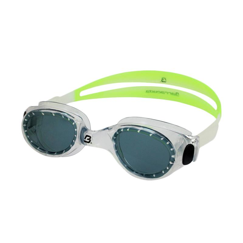 Barracuda FLITE One Piece Frame Anti Fog UV Protection Kacamata Renang - Green [#8420]