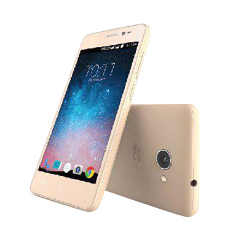 Smartfren Andromax B Spesial Edition Smartphone - Gold [16GB/2GB]