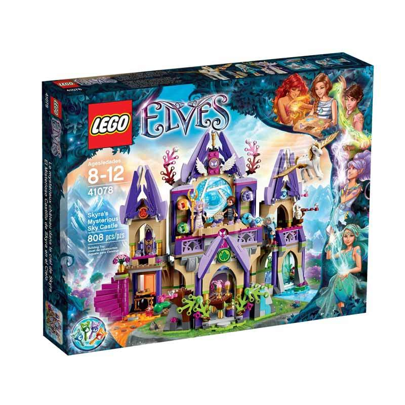 harga LEGO 41078 Elves Skyra's Mysterious Sky Castle Blocks & Stacking Toys Blibli.com