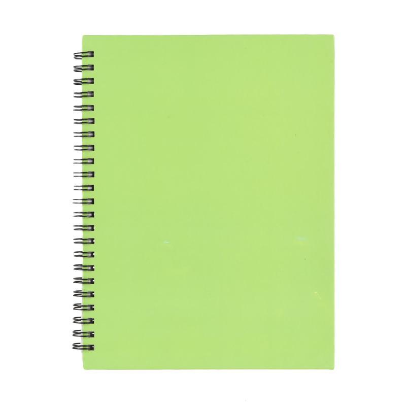 Karisma 748680 Double Wire Kwarto Buku Tulis - Green