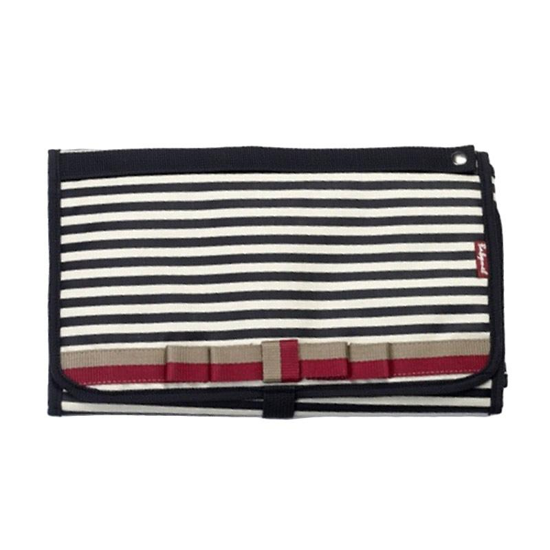Babymel Change Station Diaper Bag - Navy Stripe