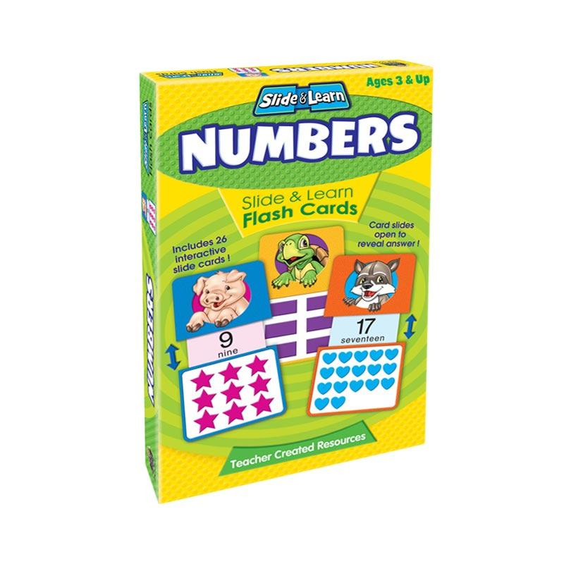 Genius Slide & Learn Flashcard Number Buku Edukasi Anak
