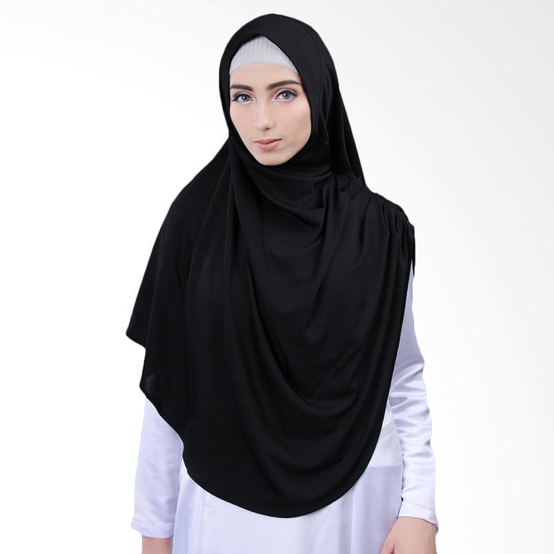 Cantik Kerudung Nazwa Jilbab Instant - Black No.5