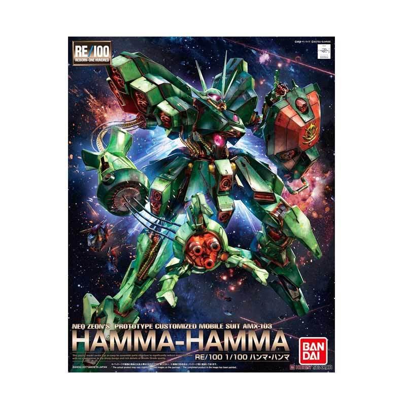 Bandai RE/100 AMX-103 Hamma-Hamma Model Kit