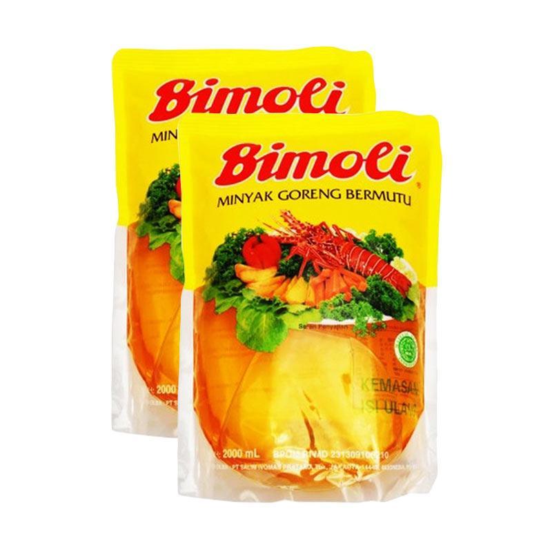 FBO50 - Bimoli Minyak Goreng Pouch [2 L x 2 pcs]
