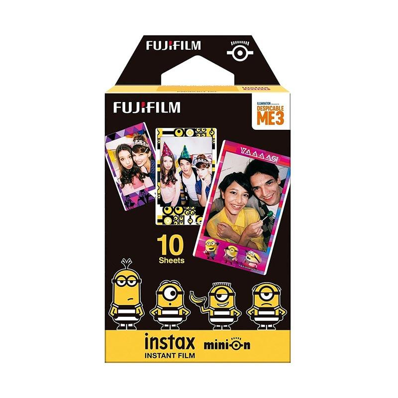 Fujifilm Minion Black Despicable Me Refill Film for Instax Mini [10 Lembar]