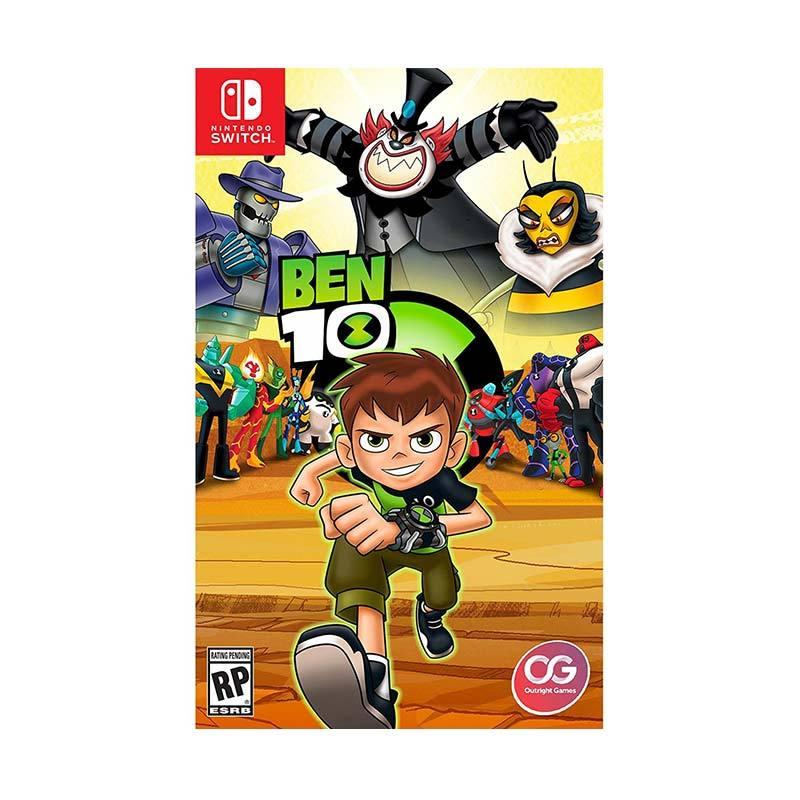 Nintendo Switch Ben 10 DVD Game