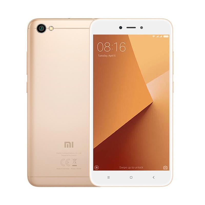 Diskon Xiaomi Redmi Note 5A – Gold [16 GB/2 GB/4G LTE]