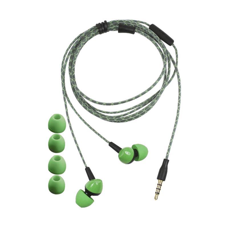 Advance E-001 Imono Earphone & Headset - Green
