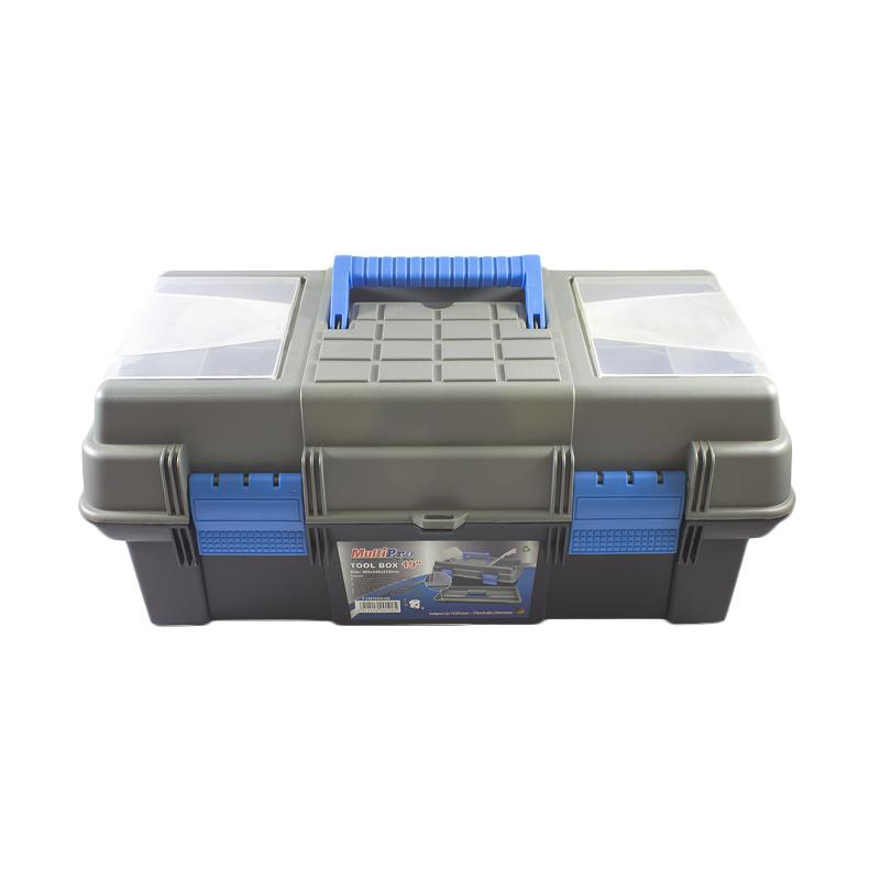 Multipro 14010200190 Plastic Toolbox [19 Inch]
