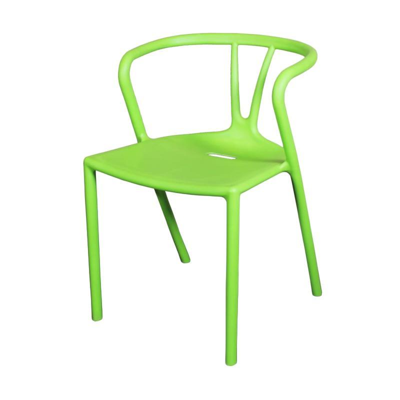 Thema Home 1577 CC Camrose Kursi - Green