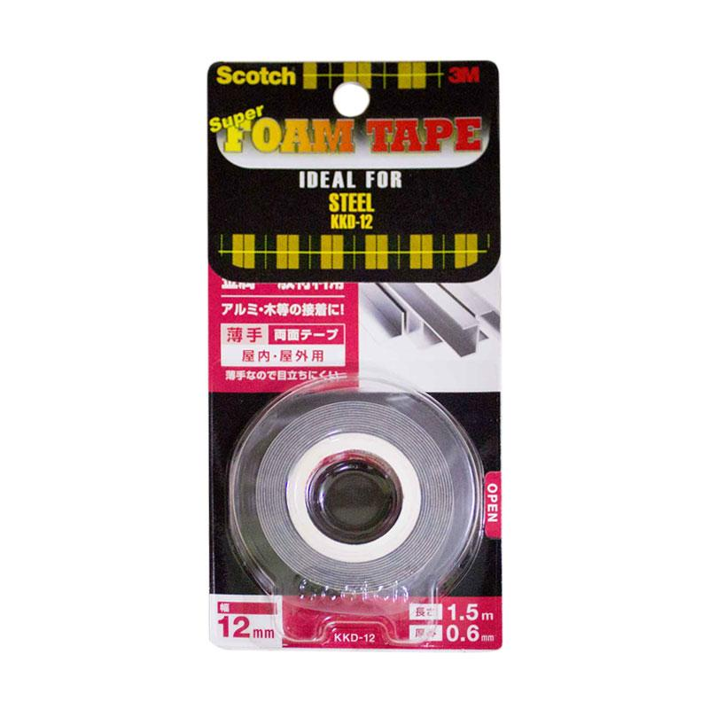 3M Scotch KKD-12 Super Strong Double Tape for Steel