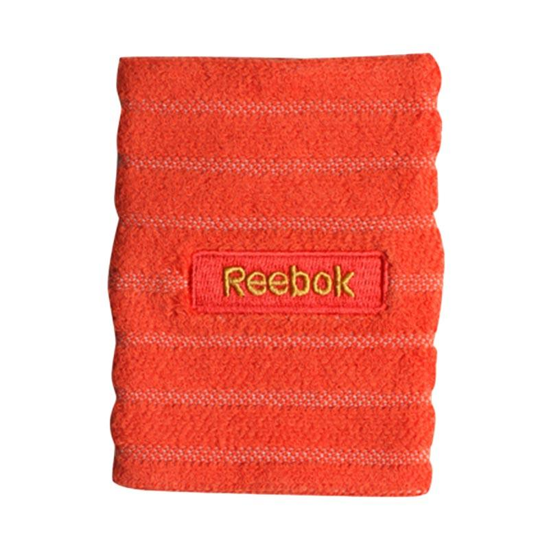 Reebok Embossed Wristband Aksesoris Olahraga Basket - Ultima Orange/Suns [W5019]