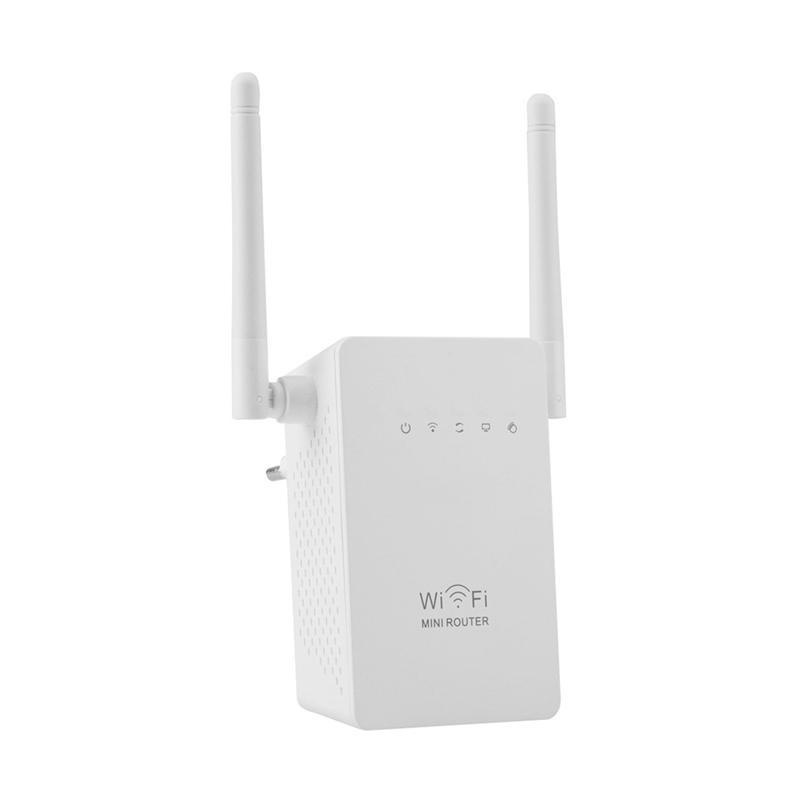 harga Mine Wireless WiFi Range Extender Amplifier - White [300 Mbps] Blibli.com