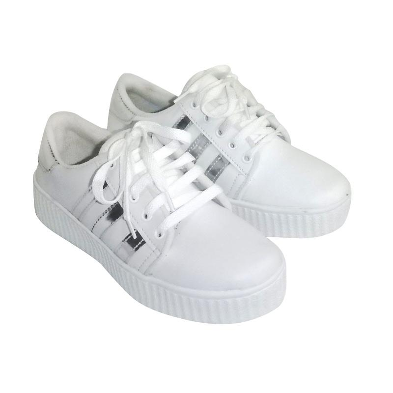 Anneliese Wanda Sepatu Sneaker Wanita - Silver