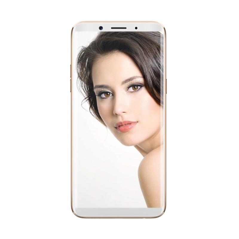 harga Oppo F5 Smartphone - Gold [32GB/4GB/Garansi Resmi]  Free Jam Tangan SKMEI 1142 Original Blibli.com