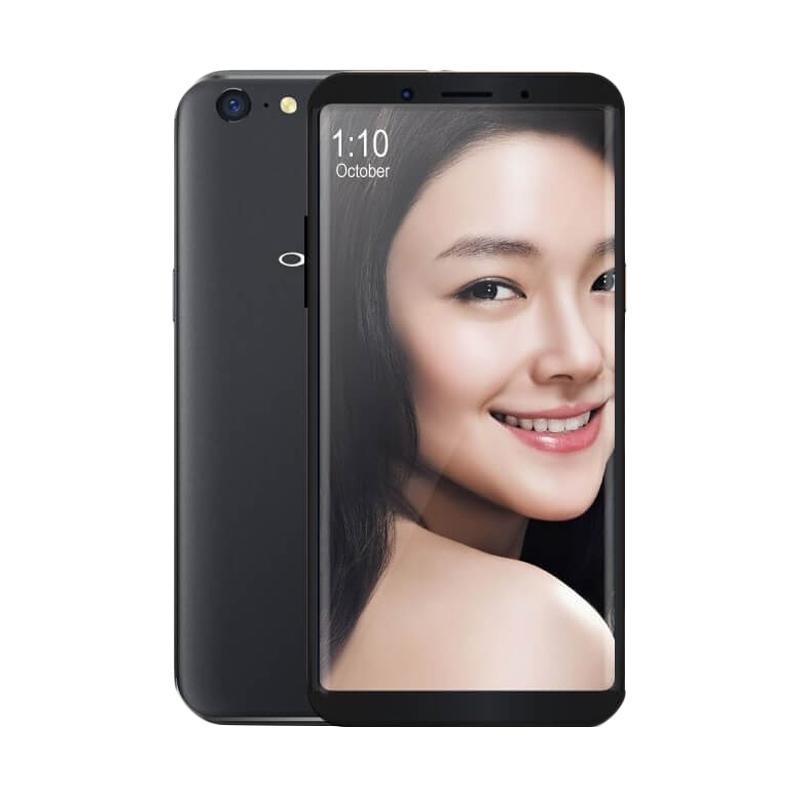 Oppo F5 Smartphone - Black [32GB/4GB/Garansi Resmi]