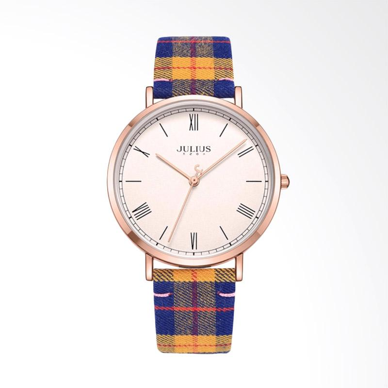 Julius JA-1015-D Jam Tangan Wanita - Blue Orange