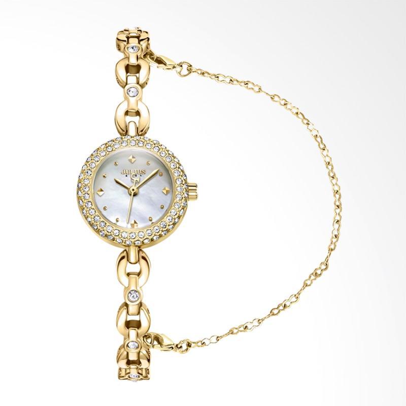 Julius JA-1001-B Jam Tangan Wanita - Gold