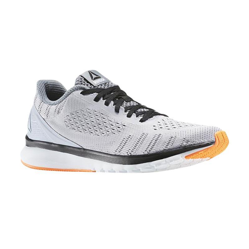 Reebok Print Smooth Men Shoes Sepatu Lari Pria - Grey [BD4529]