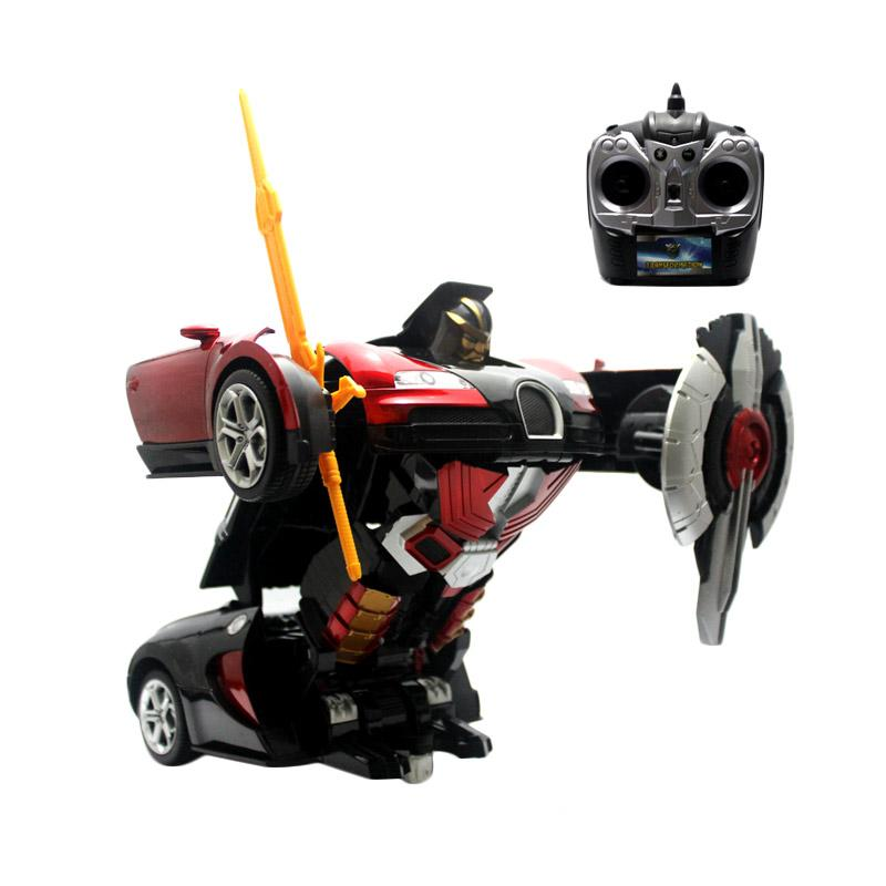 Enandem Superior Transformer Autobot Veyron RC Mainan Remote Control - Red
