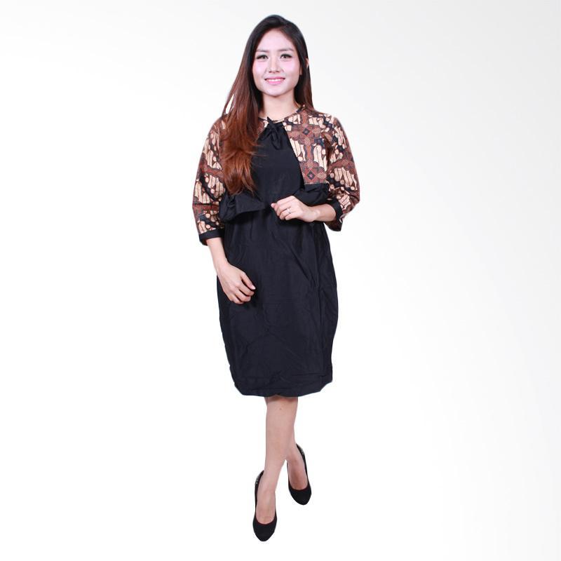 Batik Putri Ayu Solo D502-C Midi Dress Batik