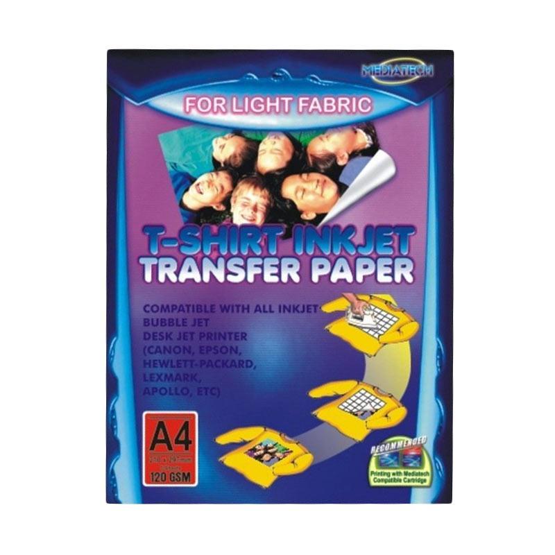 Beli mediatech 34051 light fabric t shirt inkjet transfer paper beli mediatech 34051 light fabric t shirt inkjet transfer paper a4120gsm malvernweather Choice Image
