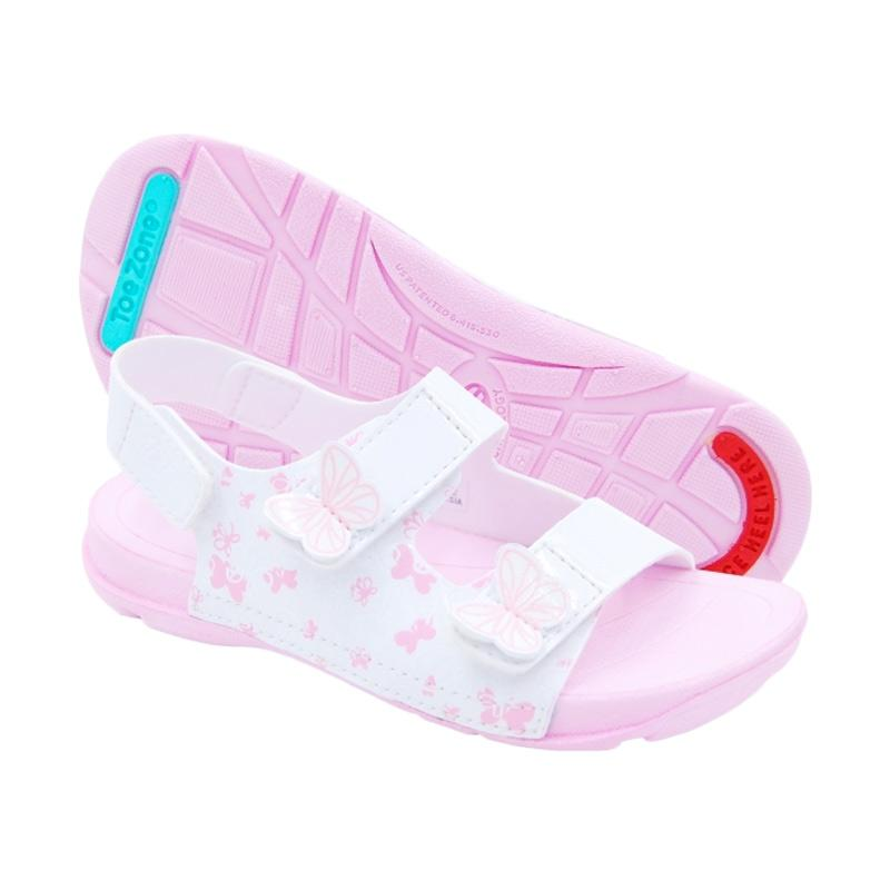 Toezone Kids Butterfly Bali Ch Sepatu - White