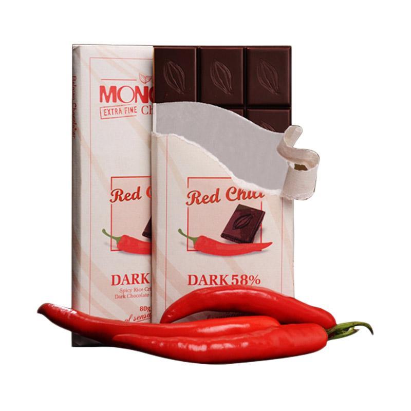 Jogjakhas Monggo Rasa Cabai Red Chilli Cokelat