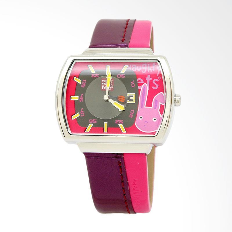 Naughty Naughty Pets NNP-55D Jam Tangan Anak - Hot Pink