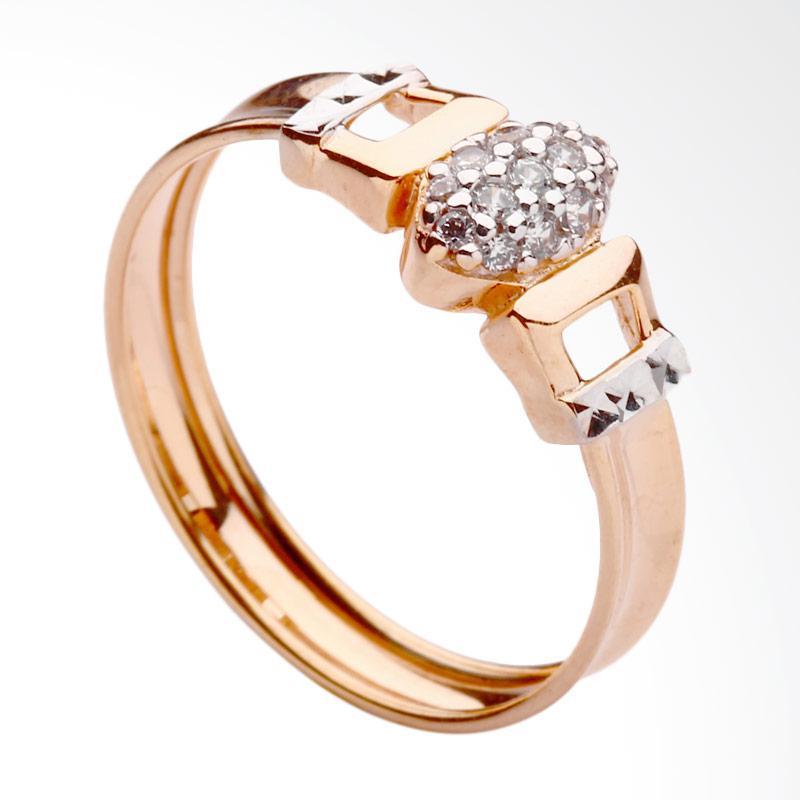 WhizLiz Ring Antuca Cincin Emas - Gold [9K]