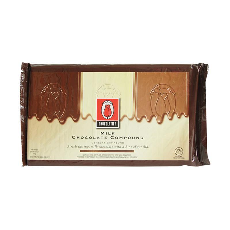 Tulip Blok Milk Comp Coklat [1 kg]